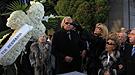 Norma Duval en el emotivo entierro de su hermana Carla
