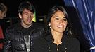 Leo Messi y su novia Antonella Roccuzzo en el Cirque du Soleil
