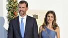 Los Príncipes Felipe y Letizia, besos y caricias dentro y fuera de Palacio
