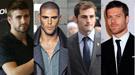 Bellezas rivales: Gerard Piqué y Victor Valdés vs. Íker Casillas y Xabi Alonso