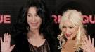 Cher y Christina Aguilera causan sensación en el estreno de 'Burlesque' en Madrid