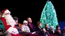 Barack Obama inaugura la Navidad encendiendo el tradicional Árbol frente a la Casa Blanca