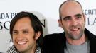 Gael García Bernal y Luis Tosar lucen simpatía en la presentación de 'También la lluvia'