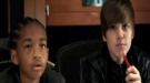 Justin Bieber y Jaden Smith, un dúo explosivo en el videoclip de 'Never say never'