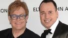 Elton John y David Furnish, papás en el día de Navidad