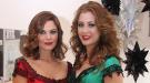 María José Suárez y Elisabeth Reyes se visten y peinan con glamour para despedir el 2010