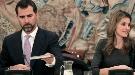Los Príncipes de Asturias presiden la inauguración de La Ciudad de la Cultura de Galicia