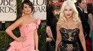 Christina Aguilera y Lea Michele, entre las peor vestidas de los Globos de Oro 2011