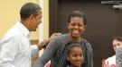 Michelle Obama celebra su cumpleaños homenajeando a Martin Luther King