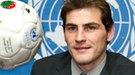 Iker Casillas recoge su título de embajador de buena voluntad de Naciones Unidas
