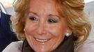 Esperanza Aguirre: 'Salgo ya sin el tumor de pecho y con mucho ánimo'