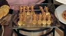 Jamón y oscars de chocolate bañados en oro para cenar en los Oscar 2011