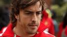 Fernando Alonso, derrotado en Australia pero con el apoyo de Raquel del Rosario