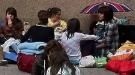 Fans de Justin Bieber acampan en la calle para verle en su concierto de Madrid