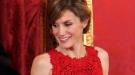 Letizia Ortiz escoge el rojo como color talismán