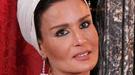La Reina Sofía y Mozah Bint Nasser, 'look total black' para cenar con sus maridos