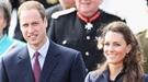 Varias personas acampan para ver la Boda Real de Inglaterra en primera fila