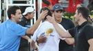 Mario Casas y Miguel Ángel Silvestre se juegan el amor de Blanca Suárez en un partido de tenis