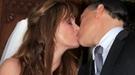Carmen Morales y Luis Guerra se casan en Ibiza ante un 'Junior' emocionado por la reconciliación