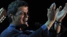 Carlos Baute y Amaia Montero cantan al unísono con Alejandro Sanz por Colombia