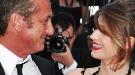 Sean Penn y Eve Hewson, muy cómplices en Cannes sin Scarlett Johansson por allí