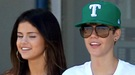 Justin Bieber y Selena Gomez: presentación familiar y tarde de compras