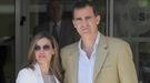 Los príncipes, la Reina Sofía y la Infanta Elena visitan al Rey, que ya ha empezado su recuperación