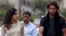 Rafa Nadal pasea con su novia Xisca Perelló y su madre por Paris