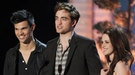 Robert Pattinson, Kristen Stewart y Justin Bieber triunfan en los MTV Movie Awards 2011