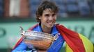 Rafa Nadal responde con humildad a los insultos de los franceses en el Roland Garros