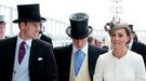 Guillermo de Inglaterra y Kate Middleton deslumbran en el Derby de Epsom