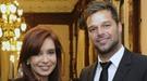 Ricky Martin, agradecido con Buenos Aires, niega que haya viajado para casarse