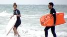 Miguel Ángel Silvestre y Blanca Suárez disfrutan de su amor en Cádiz surfeando
