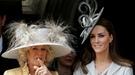 Catalina Middleton y Camilla Parker-Bowles, cómplices en la Procesión de la Orden de la Jarretera