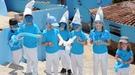 Júzcar se une a las celebraciones en el 'Día Mundial del Pitufo'