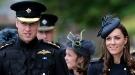 Catalina Middleton eclipsa al príncipe Guillermo en el Desfile de las Medallas de la Guardia Irlandesa