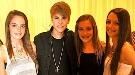La fan que perdió a su padre el 11-S ha conocido a Justin Bieber con la ayuda de Obama