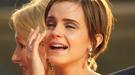Emma Watson rompe a llorar en la premier mundial de 'Harry Potter' en Londres
