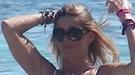 Arancha de Benito, toda una sirena durante sus vacaciones en Ibiza