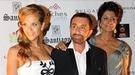 Beatriz Tapote, Laura Valenzuela, Jaime Ostos y Bárbara Rey en la gala contra el cáncer en Marbella
