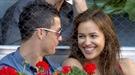 Irina Shayk y Cristiano Ronaldo intentan divertirse pese a la distancia que los separa