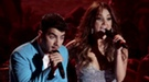 Joe Jonas conquista México cantando con Dulce María en la gala MTV World Stage