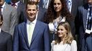 Los príncipes Felipe y Letizia sustituyen al Rey al frente de la Casa Real