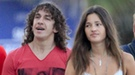 Malena Costa y Carles Puyol desmienten su crisis viajando a Roma