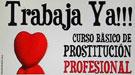 Curso de prostituta en Valencia: teoría, práctica y bolsa de empleo. 'Trabaja ya'