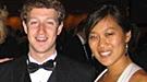 Priscilla Chan, la novia de Mark Zuckerberg, el creador de Facebook