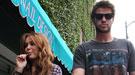 Miley Cyrus se promete con Liam Hemsworth pero se divierte con otro