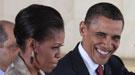 El matrimonio perfecto de los Obama, una farsa: Michelle mete la pata