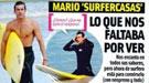 Mario Casas, pillado surfeando sin María Valverde, calienta las playas de Galicia