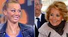Esperanza Aguirre y Belén Esteban, dos retiradas motivo de fiesta en Twitter